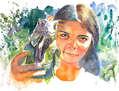 vendedora de iguanas