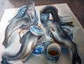 Los dagrones de agua beben té