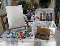 Preparacion para la pintura