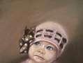 La niña del gorrito