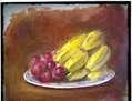 uvas y plátanos