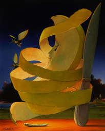 en el corazón de la gran manzana ( enmarcado) (en la memoria del 11 de septiembre)