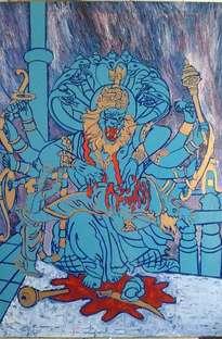 narasimha. dios hombre.leon