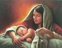 la virgen y el niño (versión de autor anónimo)