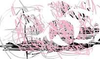 rosado en rayas