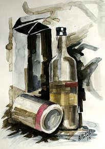 botella i