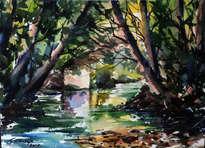rio españa en candanal