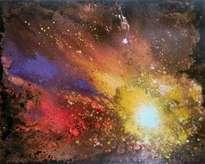 explosión del cosmos