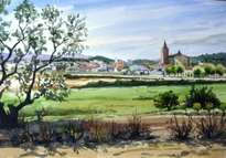 paisaje al empordà(girona)