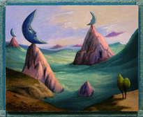 la marea de las tres lunas - ( enmarcado )