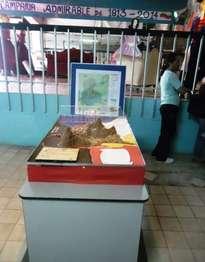 maqueta, campaña admirable 1813-2016 estado tachira