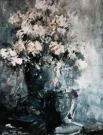 jarrón con flores 3