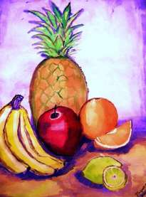 an apple among the fruits