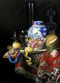 bodegón con porcelana china