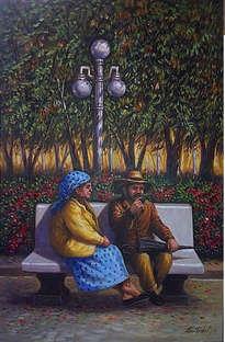 pareja de viejos