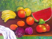 bodegón de frutas