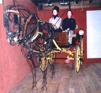 caballo cartujano y cocheras