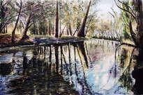 remanso en el rio