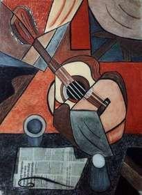 guitarra cubista