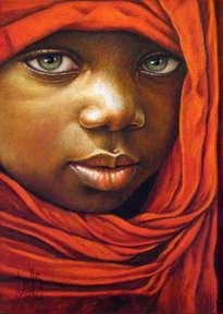 niño de áfrica 75
