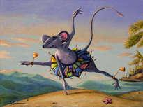 un ratoncito en la feria del este -