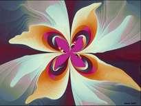 mariposa en flor.forma parte de las obras referentes dentro del arte abstracto ver en la red