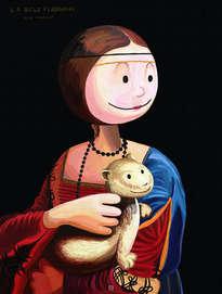 la dama del armiño - cecilia gallerani