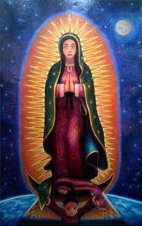virgen de guadalupe ( la mujer de las estrellas)