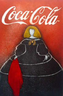 menina coca cola.