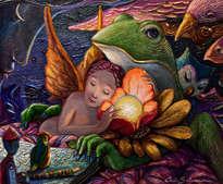 dentro de un sueño colorido
