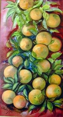 racimo de naranjas