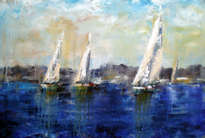 regata azul