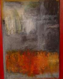 superficie con márgen rojo