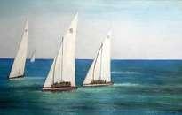 regata de vela latina