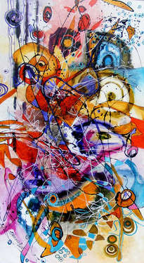 bancul cu elefantul, abstract bissinger