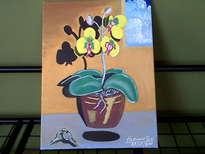 las flores amarillas