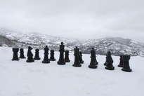 nieva y ganan las blancas