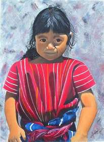niña maya