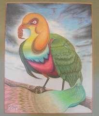 pájaro sacacorchos
