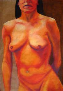 desnudo en cálidos