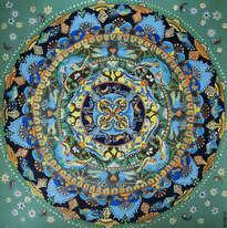 mandala  composition