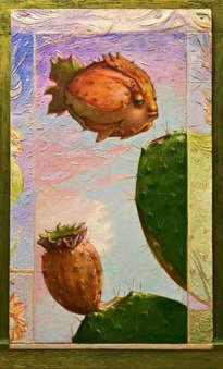 el pez higo chumbo - ( enmarcado )