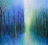 sendero azul