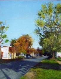 calle granaderos tarde de sol