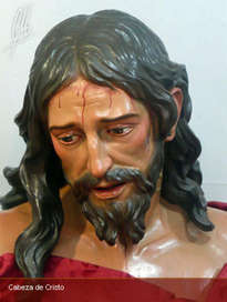 cabeza de cristo