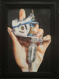 my first tattoo machine