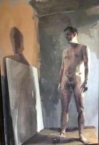 adán y el lienzo en blanco