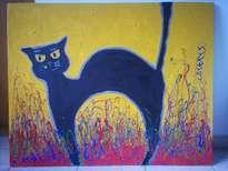 lili, la petite chatte noire