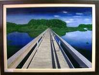 j13064 ponte de madeira