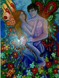 amor bajo la luz de luna